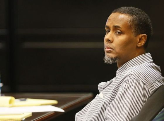 Ali Mohamed Mohamud shortly before being sentenced