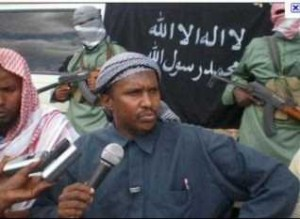 Fuad Mohamed Khalaf chilling with his al-Shabaab bros. And assault weapons.