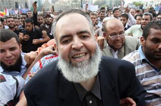 Hazem Salah Abu Ismail, possibly tripping balls