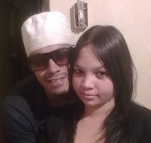 Shafieka Hendricks and her boyfriend Naeem
