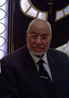 Mohammed Mahdi Akef being old