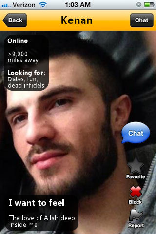 The crazy homophobic ones somehow always end up on gay hookup app Grindr... also, sorry gays, he's straight. I know what you were thinking.