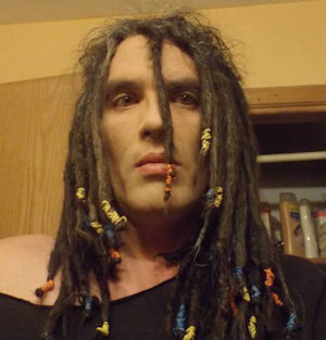 His locks aren't the only dread-ful thing about him