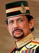 Hassanal Bolkiah is always angry