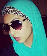 When will Muslimahs realize that leopard print is dead and will never come back?!