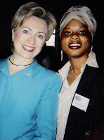 Jamilah Nasheed with the Butcher of Benghazi