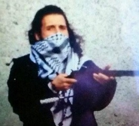 Michael Zehaf-Bibeau demonstrating the peace his religion taught him