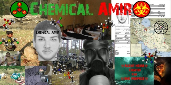 """Chemical Amir,"" a member of CWI, and others' boasts of his weaponmaking prowess."