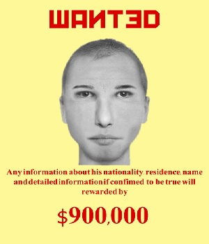 "A ""Wanted"" poster the CWI admins made of ""me"" a while back, offering $900k for information on me. Religion of peace."